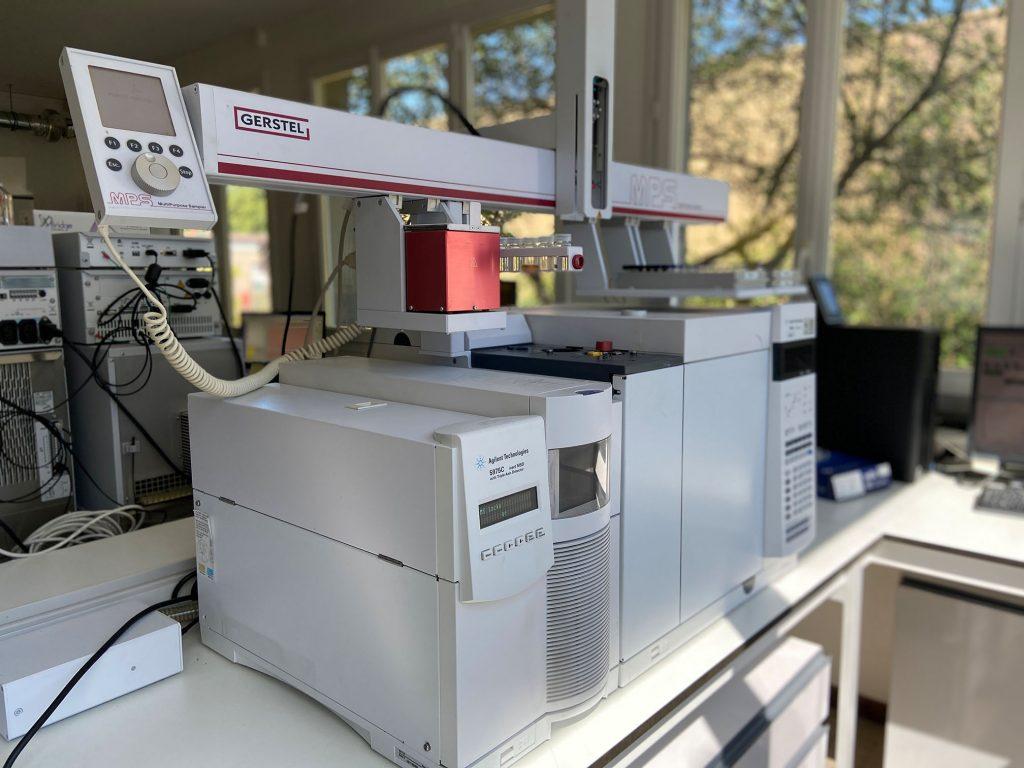 Chromatographie gazeuse couplée à la un spectromètre de masse