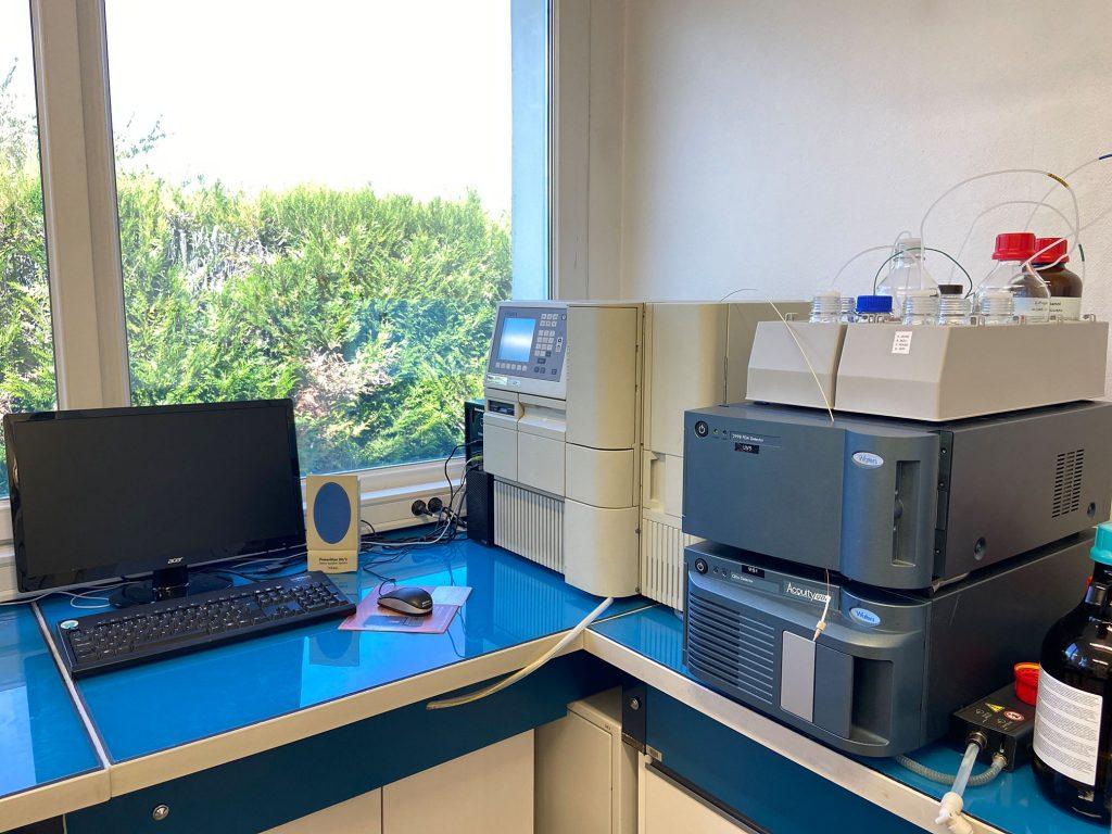 Chromatographie liquide couplée à un détecteur DAD et à un spectromètre de masse