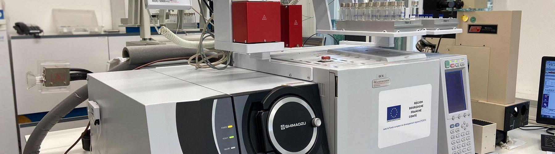 Chromatographie gazeuse couplée à la spectrométrie de masse en tandem